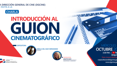 "Photo of La Dirección General de Cine (DGCINE) invita a la charla ""Introducción al guion cinematográfico"""