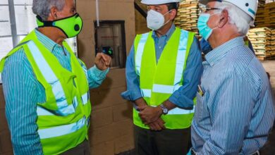 Photo of Ministro Bisonó visita Fertilizantes Santo Domingo en recorrido de la Ruta Industrial